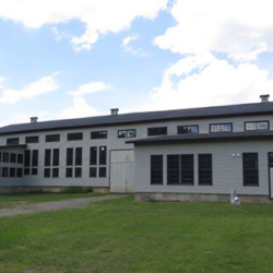 Exterior view of the Vermont Granite Museum in Barre