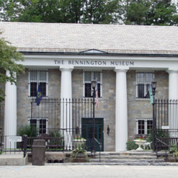 Exterior view of The Bennington Museum located in Bennington, Vermont